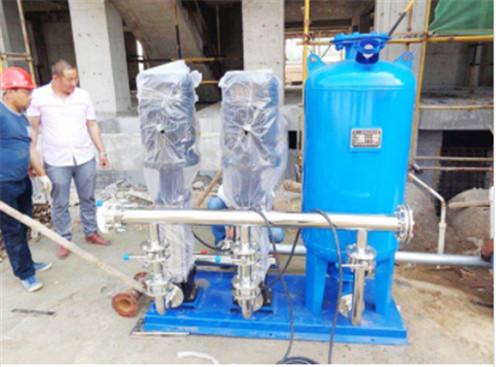变频供水设备水泵的正确维护方法,你Get到了吗?