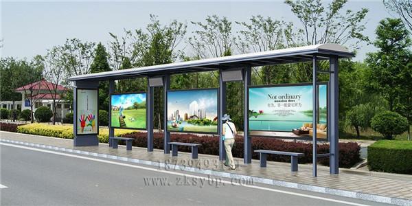 河南公交候车亭
