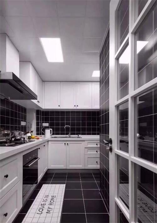 呼市全铝定制厨柜衣柜案例
