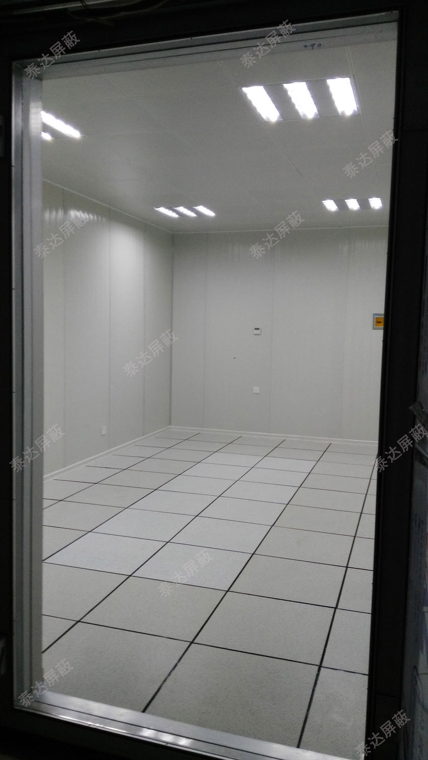 钢板焊接式电磁屏蔽室 有效保密屏蔽
