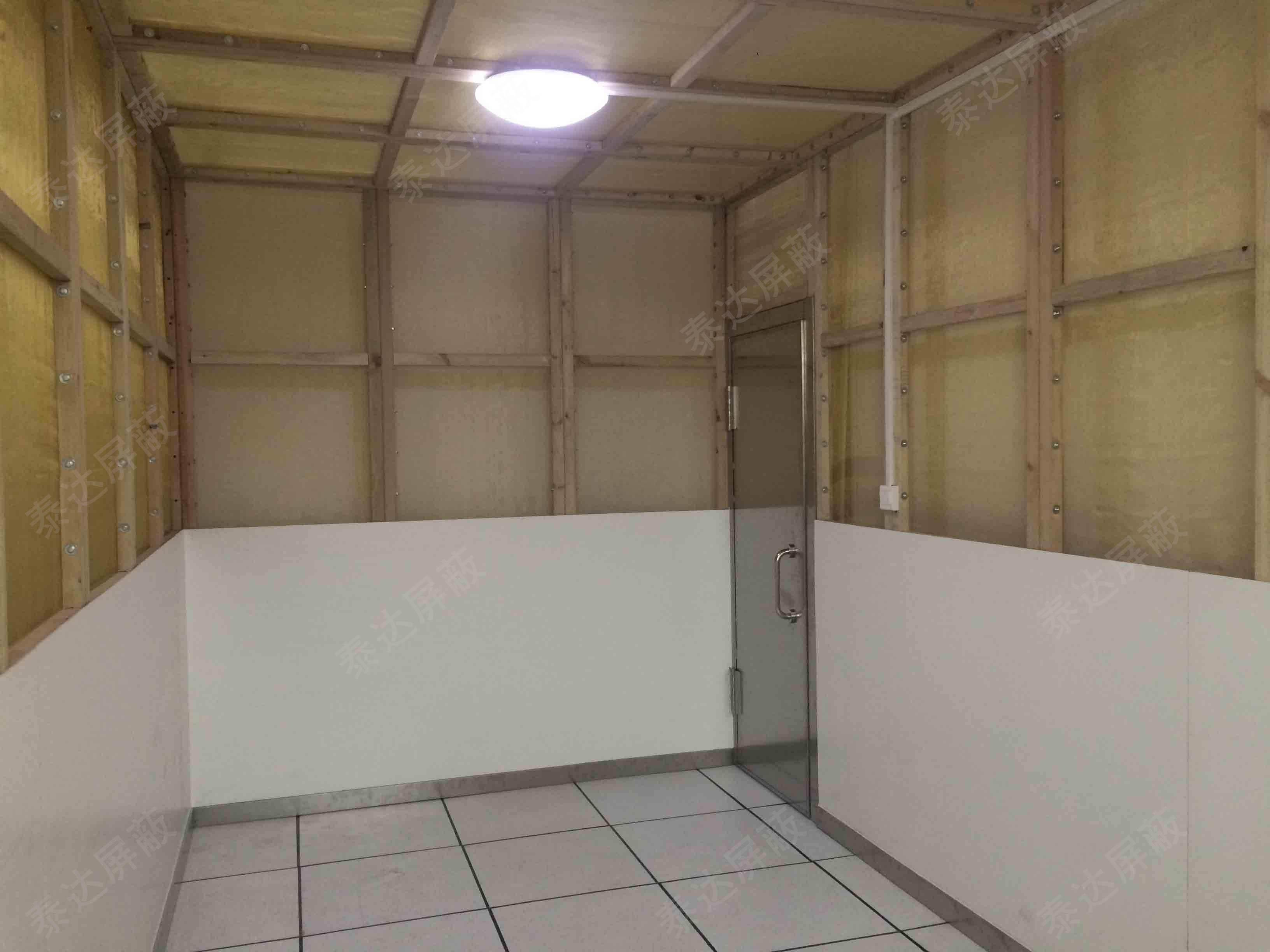銅網式屏蔽機房