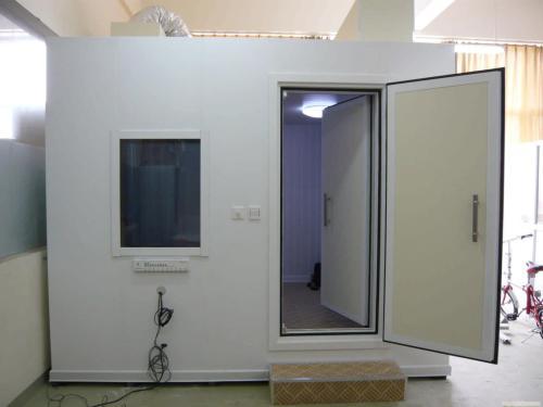 屏蔽室的监控不止用来监控,屏蔽室的钢壁有什么注意事项?