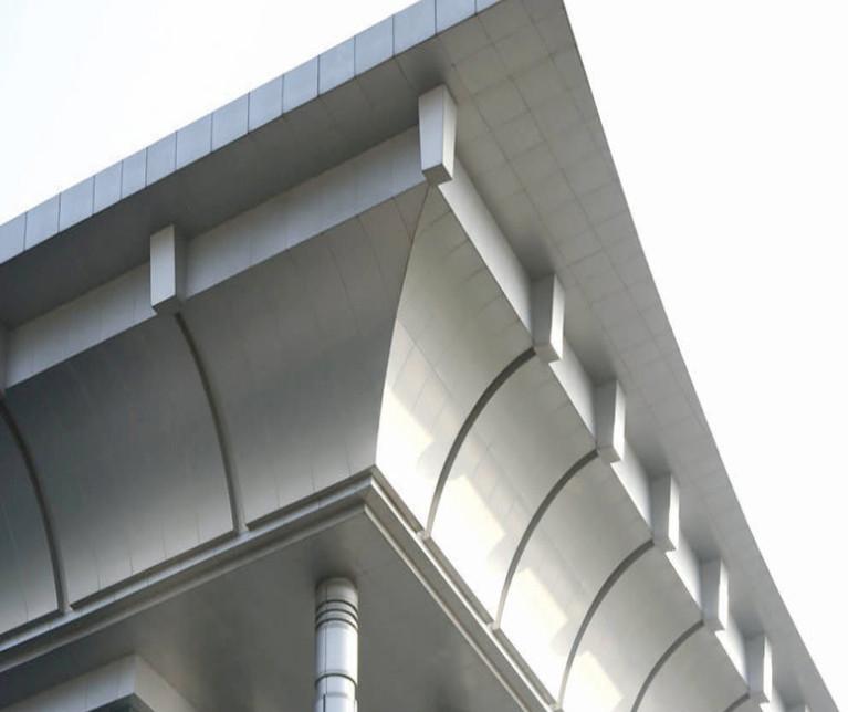 幕墙铝单板的工艺处理