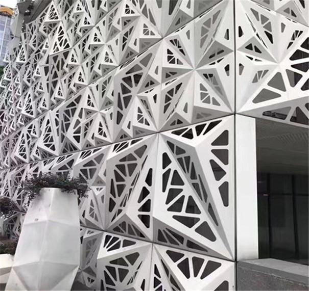图案雕花镂空铝单板