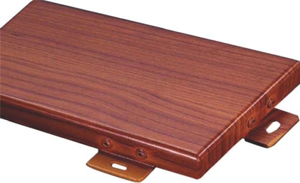 木纹铝单板与实木板对比优势
