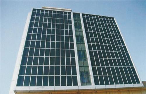 青海民族大学幕墙铝单板装饰图