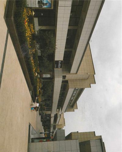 刘家峡水电博物馆外墙采用铝单板装饰