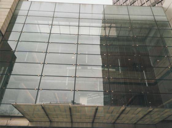 酒泉河州大酒店外墙装饰铝单板安装图