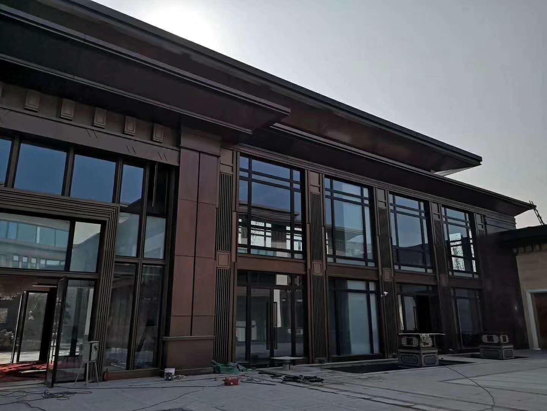 恒大售楼部幕墙铝单板项目