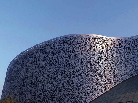 雕花铝单板