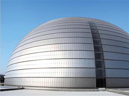 铝单板幕墙建筑
