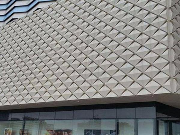 铝单板幕墙多用以户外是因为有这种特性