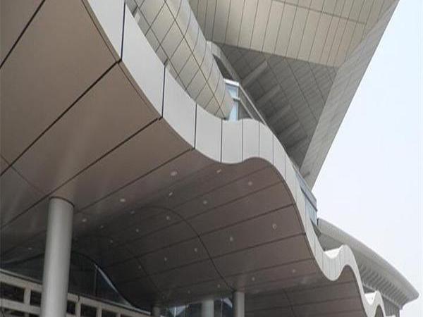 幕墙铝单板产品的简单介绍及其特性