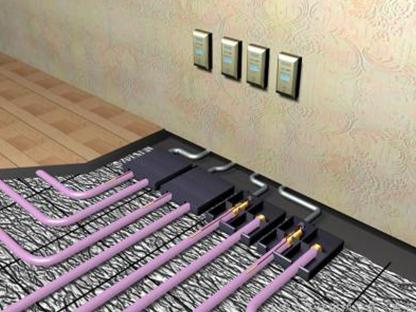 云南酒店地暖安装