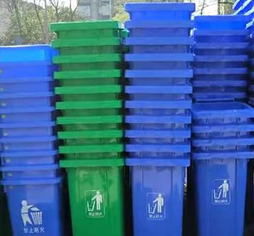 成都塑料垃圾桶成功案例
