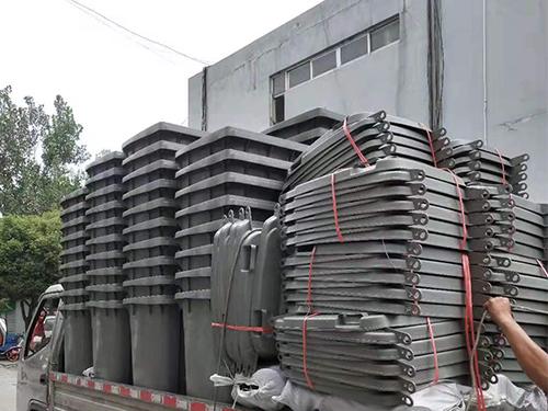 环卫垃圾桶批发厂家厂区展示
