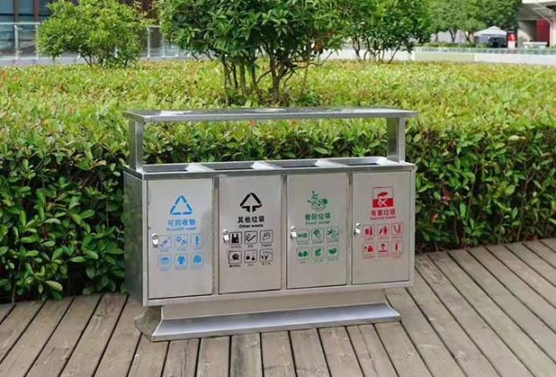 户外摆放成都垃圾桶需要遵循这些要求,你知道吗?