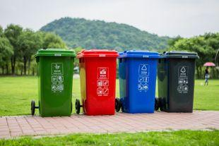 """""""六分类""""垃圾桶,你见过吗?街道做了一个成都垃圾桶分类新尝试"""
