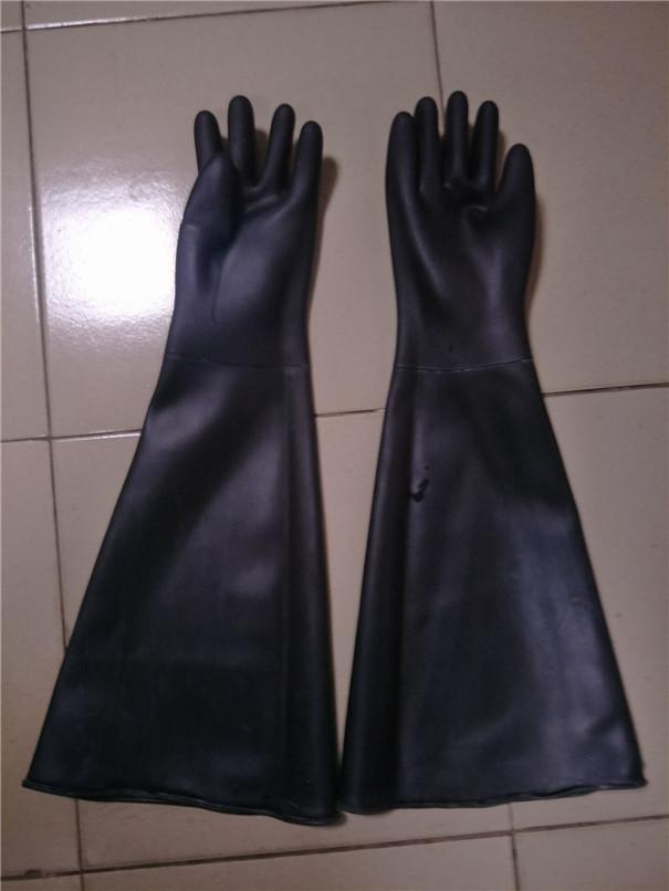 喷砂防护手套