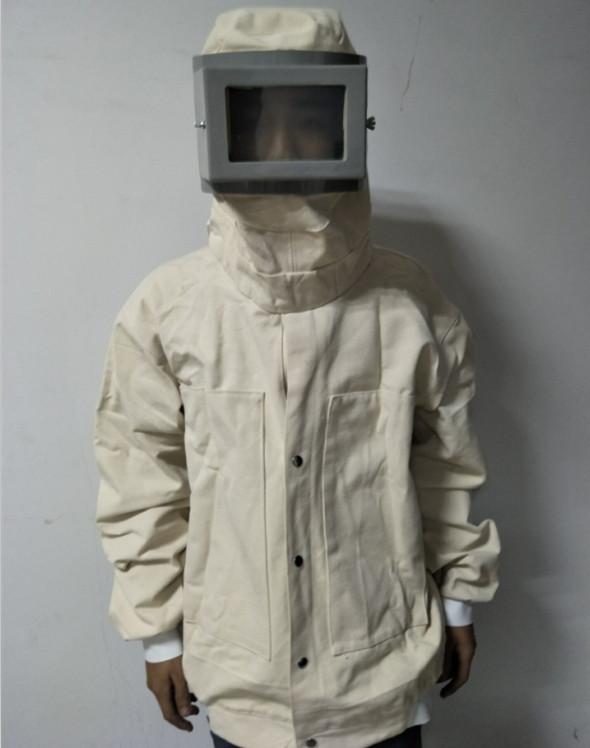 廠家供應噴砂機防護服