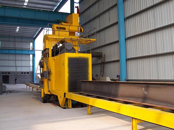 除锈清理机H型钢抛丸机 钢材 钢板 板材 铝材除锈清理机非标定制
