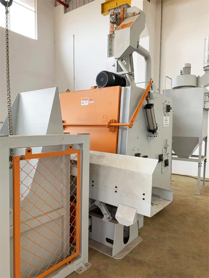 自动喷砂机比较常见的一些故障和处理方式
