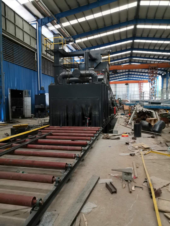 通式拋丸機是清洗鑄件的鑄造設備
