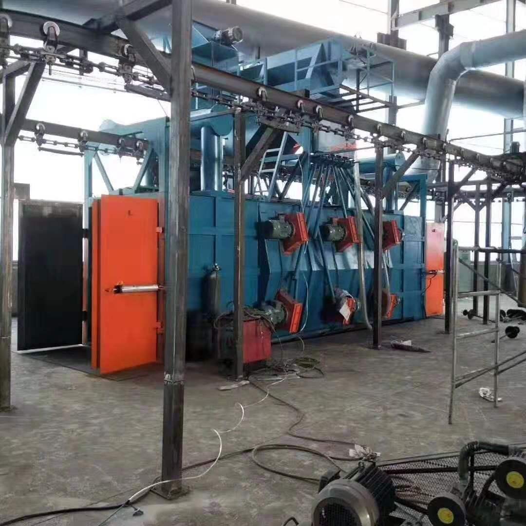 实力广东抛丸机厂家,专业生产销售悬链式抛丸机设备