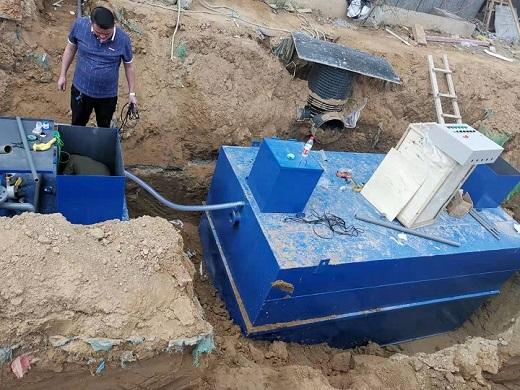 污水处理设备安装中