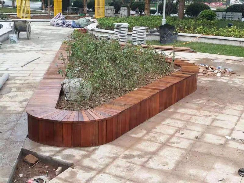 陕西防腐木围凳