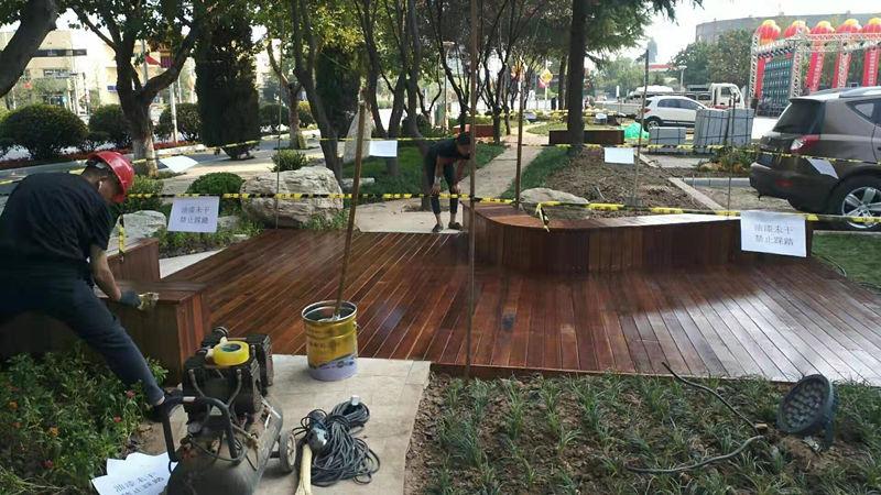 防腐木地板施工团队