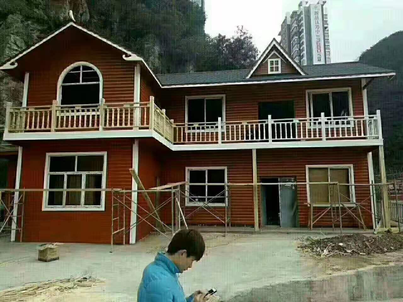 陕西防腐木木屋