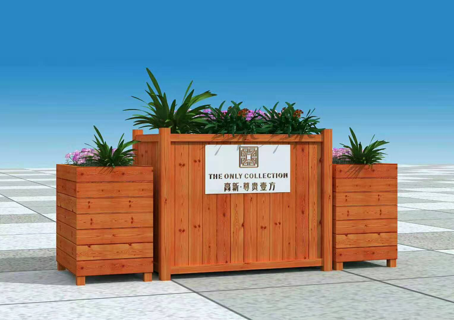 陕西防腐木厂家教大家防腐木花箱的选择技巧,快来学吧