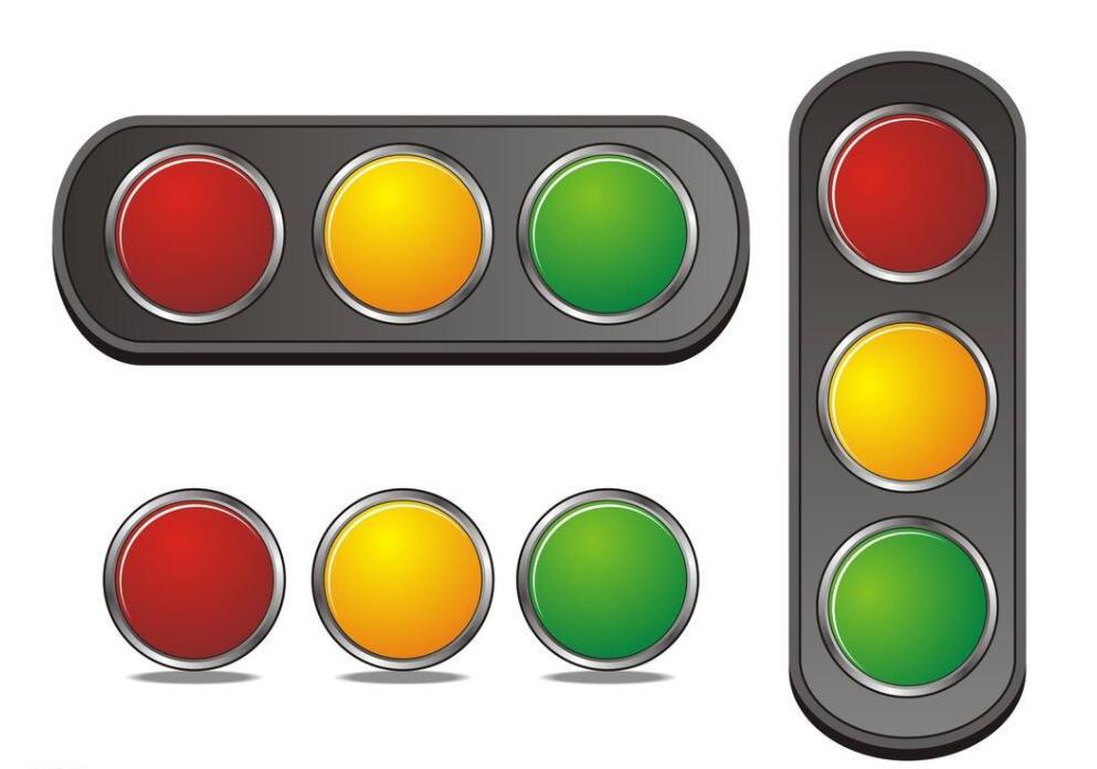 三头箭头信号灯