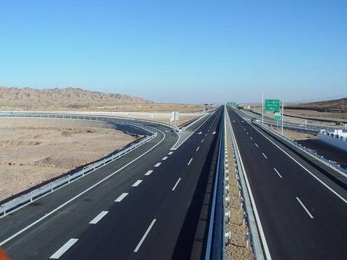 道路交通设施高速展示图