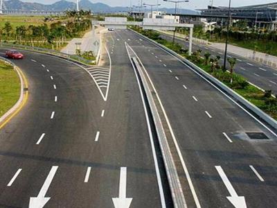 城市道路标线