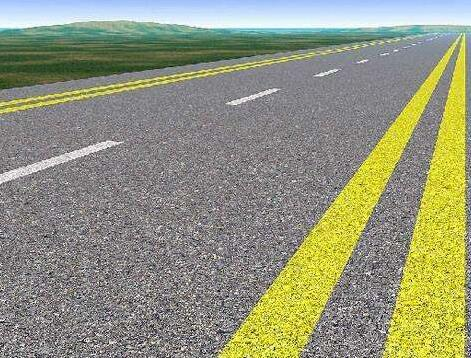 道路划线管制