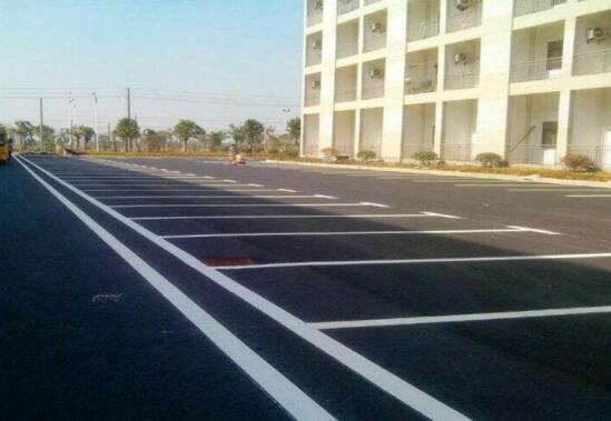 停车场划线施工