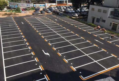 住宅小区停车场划线应当注意什么