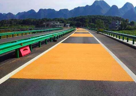 彩色防滑路面适用于哪些路段