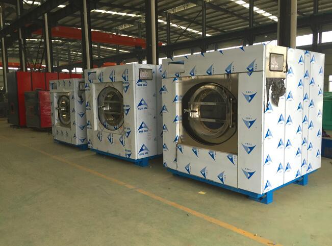 成都干洗机工厂展示
