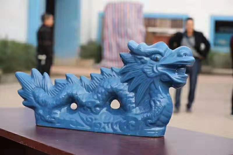 四川西瓦配件-陶瓷龙