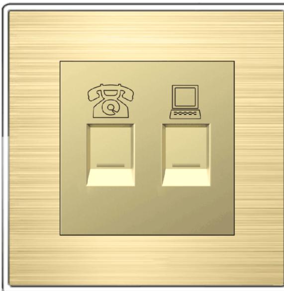 电话网线插座