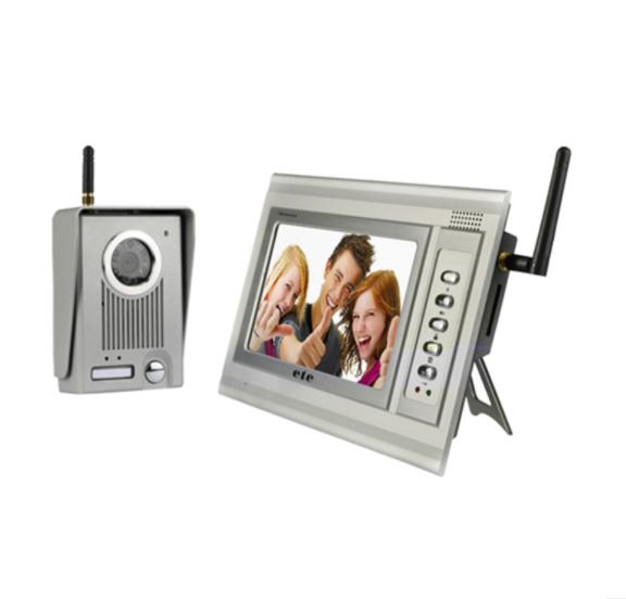 无线7寸可视对讲门铃(T-709CW)
