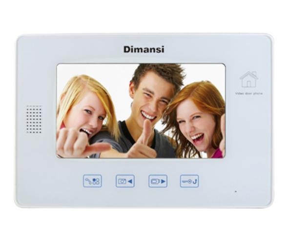 7寸录像触摸室内机(T-960CL)