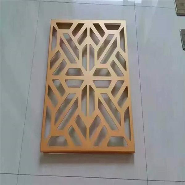 雕刻镂空铝单板