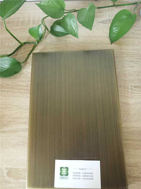 河南仿铜拉丝铝单板价格