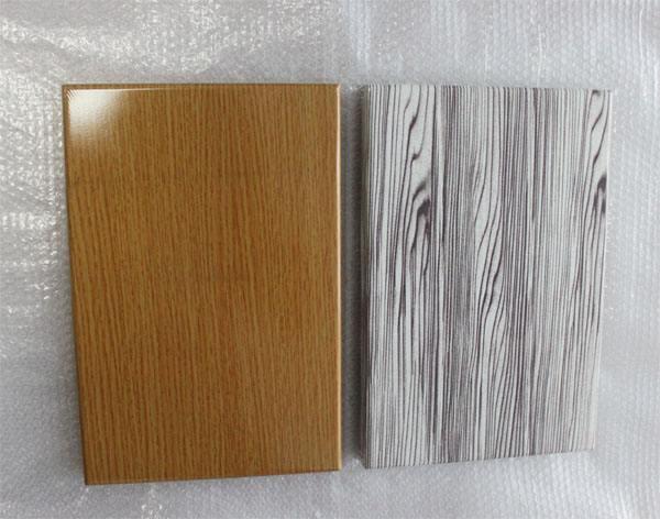 河南仿木纹铝单板厂家生产的一种效防大自然而又超越大自然的产品——仿木纹铝单板