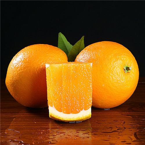 个头均匀宜昌秭归伦晚脐橙果大皮薄
