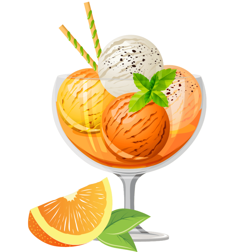 夏天马上就要到了,用宜昌秭归脐橙制作的冰淇淋你不想试试吗?